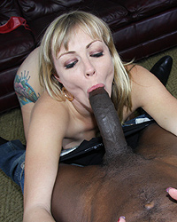 Adrianna Nicole - Hot cougar gets talked into making private video with black man