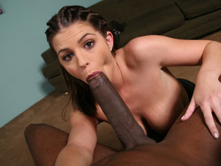 Gagging Black Cock Brooklyn Chase