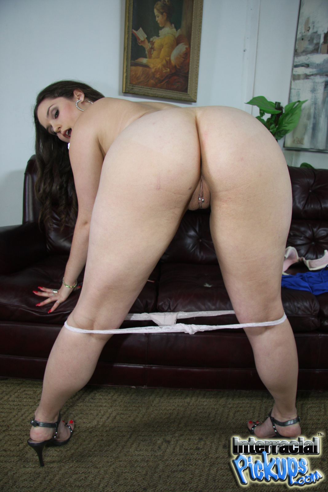 bbw interracial pickups