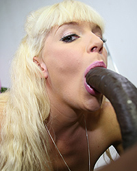 Heidi Mayne - Blonde cougar goes nuts with pov interracial sex