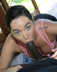 Karlee Grey Black Dick Bitch