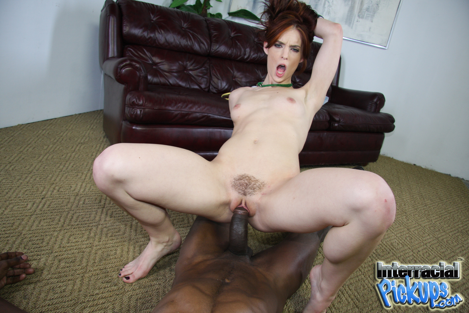 Interracial riley shy
