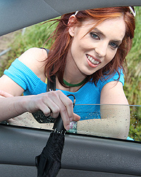 Riley Shy - Deviant redhead trusts that photographer won