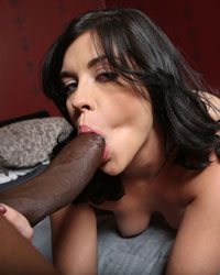 Savannah Camden Black Cock Cum