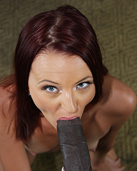 Taylor Bliss - 12 inches of black cock makes Taylor Bliss a star in a movie never intended for release